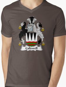 Caldwell Coat of Arms / Caldwell Family Crest Mens V-Neck T-Shirt