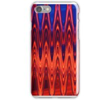 Orange & Blue iPhone Case/Skin