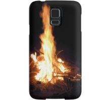 Fireplace Samsung Galaxy Case/Skin