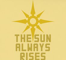 The Sun Always Rises by kasaiki