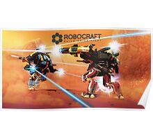 Robocraft Mech Fight Poster