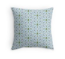 Hansel and Gretel (color version 2) Throw Pillow
