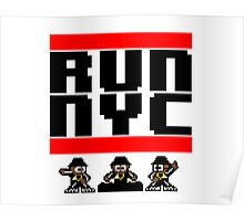 Run New York Poster