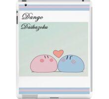 Dango Daikazoku iPad Case/Skin