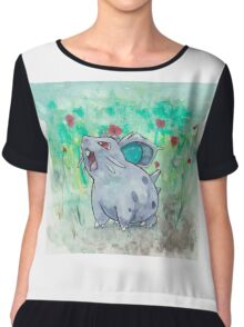 Nidoran Pokemon Chiffon Top