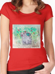 Nidoran Pokemon Women's Fitted Scoop T-Shirt