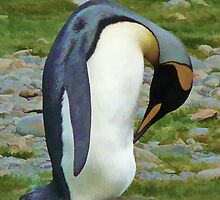 King Penguin by Marylou Badeaux
