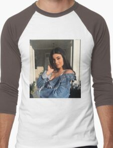Kylie Jenner Gaze Men's Baseball ¾ T-Shirt