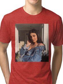 Kylie Jenner Gaze Tri-blend T-Shirt