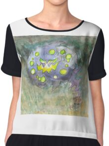 spiritomb pokemon ghost Chiffon Top