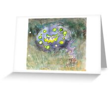 spiritomb pokemon ghost Greeting Card