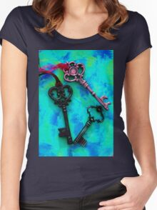 Key Trio Women's Fitted Scoop T-Shirt