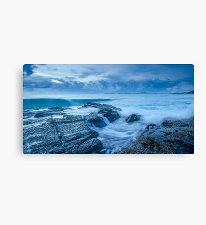 Stormy Seas - Currumbin Beach, Gold Coast, Australia Canvas Print