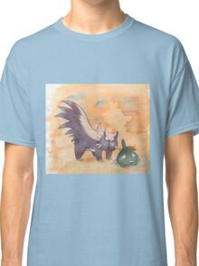 stunky and trubbish pokemon Classic T-Shirt