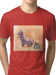 stunky and trubbish pokemon Tri-blend T-Shirt