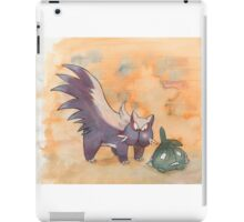 stunky and trubbish pokemon iPad Case/Skin