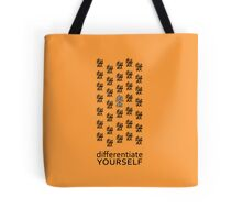 Differentiate Yourself (Light Shirt) Tote Bag