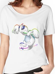 Lugia Print Women's Relaxed Fit T-Shirt