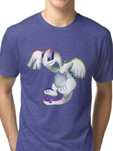 Lugia Print Tri-blend T-Shirt