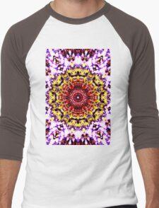 Sunflower in the wind Men's Baseball ¾ T-Shirt