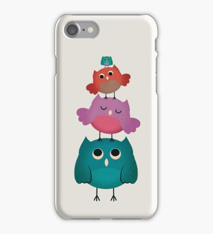 Owl Stack  iPhone Case/Skin