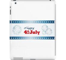Happy 4th of July - Fireworks iPad Case/Skin