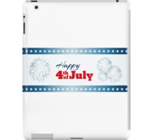 Happy 4th of July - Fireworks iPad Case/Skin