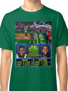 Seattle Supersonics NBA Jam  Classic T-Shirt