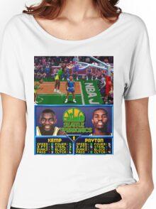 Seattle Supersonics NBA Jam  Women's Relaxed Fit T-Shirt