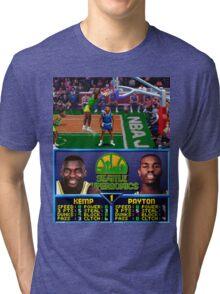 Seattle Supersonics NBA Jam  Tri-blend T-Shirt