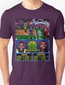 Seattle Supersonics NBA Jam  Unisex T-Shirt