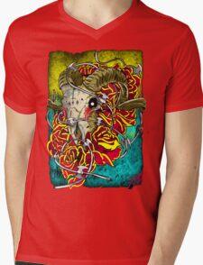 ram skull Mens V-Neck T-Shirt