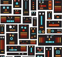 Crazy Robot Friends by Carla Martell