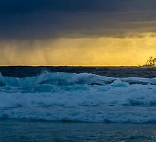 Honeymoon Bay - Moreton Island, Australia by Ann Pinnock