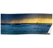 Honeymoon Bay - Moreton Island, Australia Poster