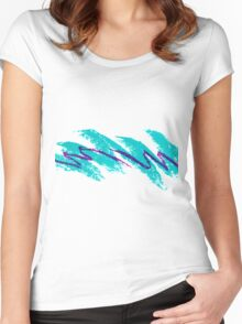 90's Aesthetic Women's Fitted Scoop T-Shirt