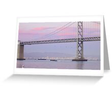 Willie Brown Bridge at Dusk Greeting Card