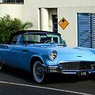 Blue Thunderbird by Noel Elliot