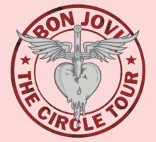 Bon Jovi Circle Tour Kids Tee