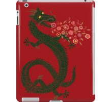 Dragon, Flower Breathing iPad Case/Skin
