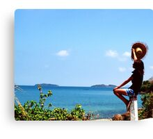 Pirate Island, let's explore new Place. You dare ?? Canvas Print