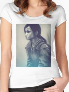 The last of us - Ellie  Women's Fitted Scoop T-Shirt