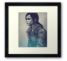 The last of us - Ellie  Framed Print