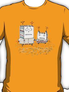 Robots at the Beach  T-Shirt