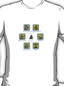 8-bit Batman Select Screen Shirt T-Shirt