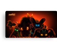 Boss RPG Game Canvas Print