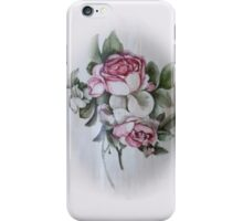 Shabby Chic Vintage Victorian Roses iPhone Case/Skin