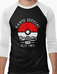Kanto Official - Pokémon Men's Baseball ¾ T-Shirt