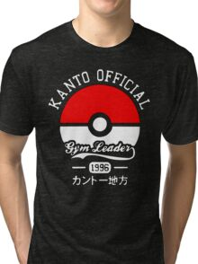 Kanto Official - Pokémon Tri-blend T-Shirt