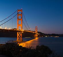 Golden Gate Bridge by Mark Eden